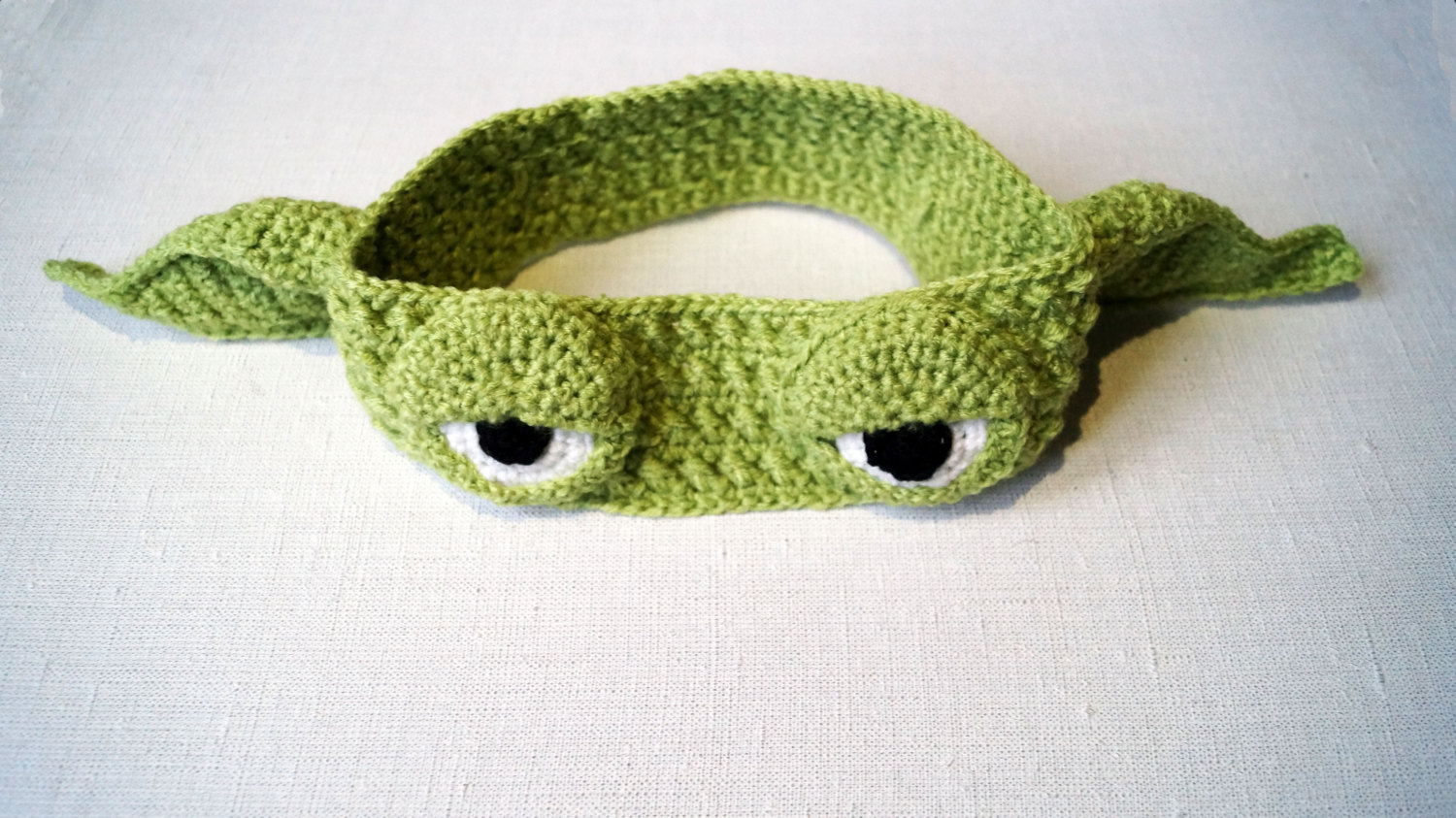 Amigurumi Star Wars Patterns : Yoda headband crochet pattern pdf star wars jedi apparel just